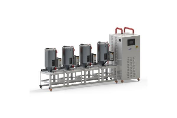 SB Plastics Dehumidifying Dryers