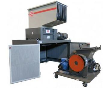 combination shredders plastic material shredders