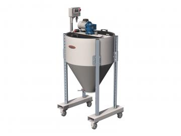 plastic material mixers 0 to 200kg