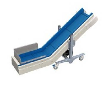 product handling equipment incline conveyors