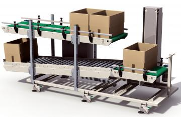 roller track conveyors system